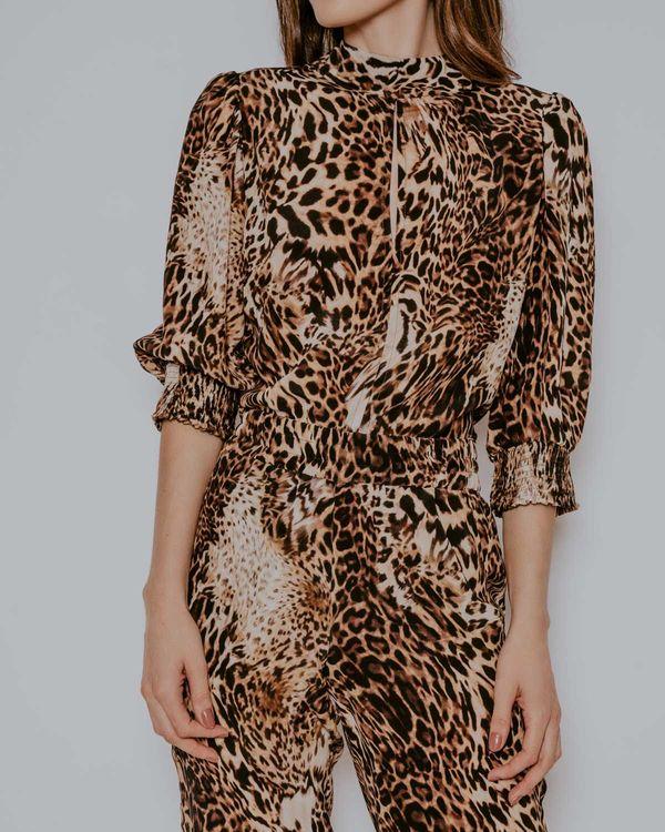 Blusa-Talita-seda-leopardo