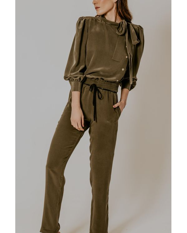 Calca-Bela-seda-verde-pijama