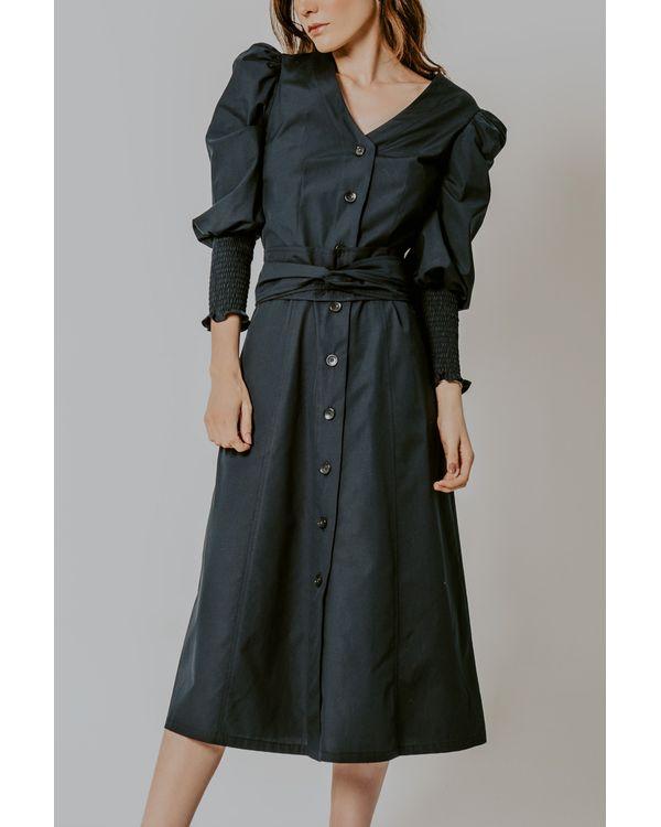 Vestido-Veronica-tricoline-marinho